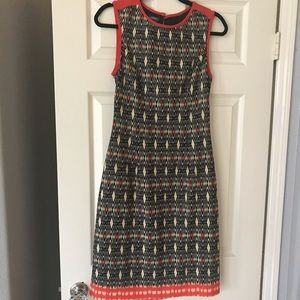Muse Aztec southwest open back dress size 12